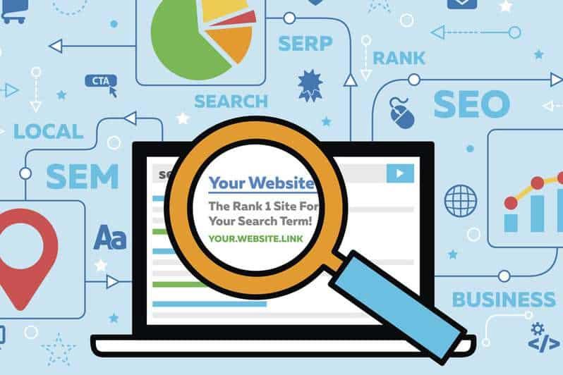 search engine rankings web design