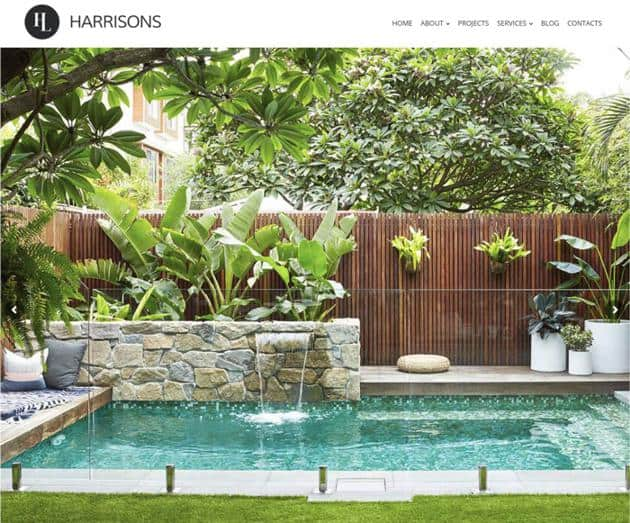 SEO Case Study on Harrison's Landscaping